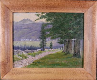 Jan B. Minařík - Pastva u lesa
