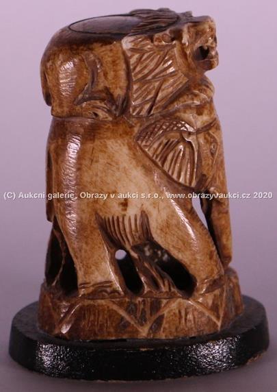 1. pol. 20. století - Slon indický