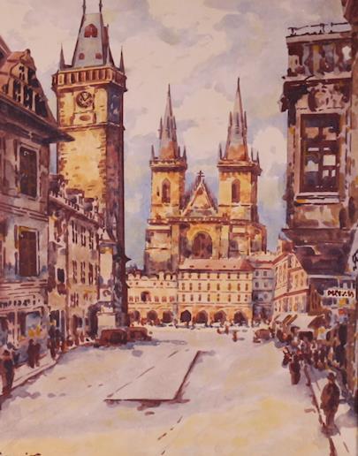 Rudolf Václavík - Staroměstské náměstí