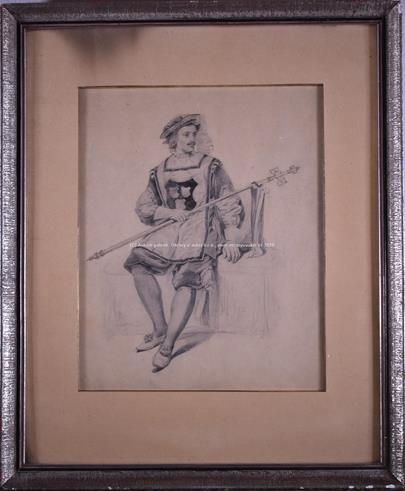 Jan Preisler - Muž v historickém kostýmu