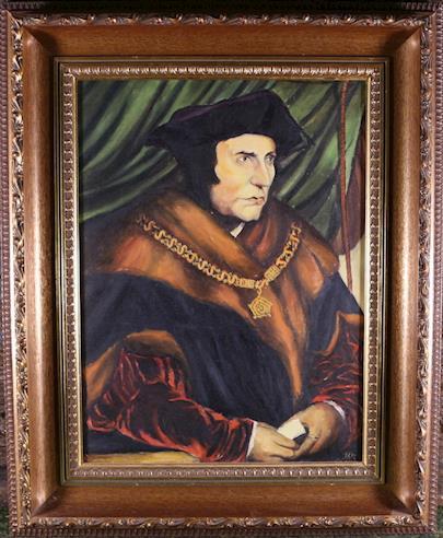 signatura nečitelná - Portrét anglického šlechtice