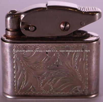 značeno Kablo - Zapalovač, stříbro 900/000, hrubá hmotnost 41,70 g