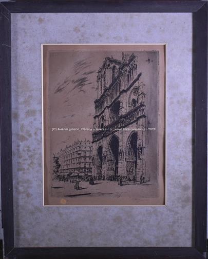 T. F. Šimon - Paříž