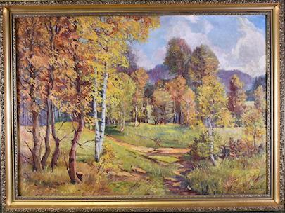 Jan Pašek - Pozdní léto v lese