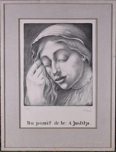 Alois Bílek - Plačící dívka