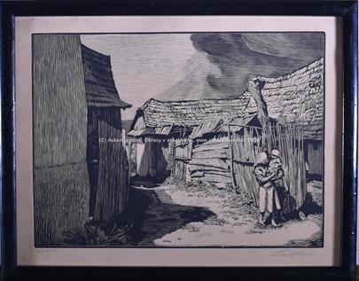 František Pukl a další - Soubor 4 grafických listů