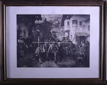 Franz von Defregger - Válka páté koalice 1809 - tyrolské povstání