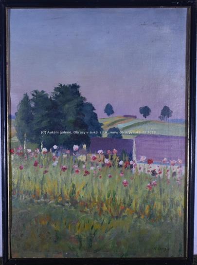 Karel Langer - Květná zahrada