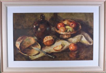 Otakar Baran - Ovocné zátiší