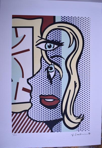Roy Lichtenstein - Blondýnka
