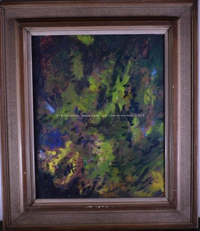 Václav Hejna - Zelená abstrakce