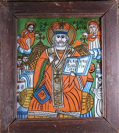 Rumunsko 19. stol. - sv. Mikuláš Divotvůrce