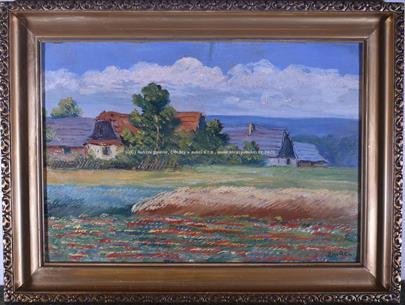 František Zavřel - Za vesnicí