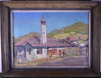 středoevropský malíř 20. stol. - Motiv z Dalmácie