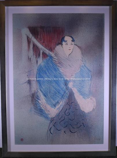 Henri de Toulouse Lautrec - Kurtizána