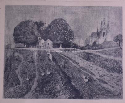 Antonín Procházka - Malebná vesnička