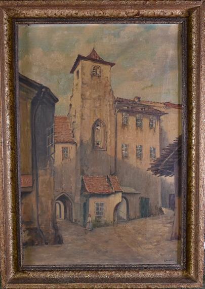 František Zavřel - Městské zákoutí