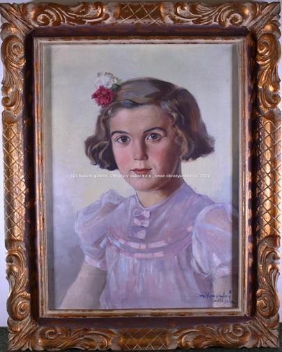 Marcel Krasický - Portrét dívky