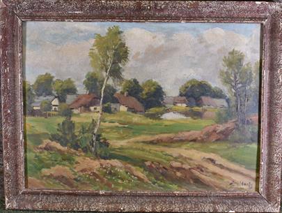 Josef Hart - U vesnice