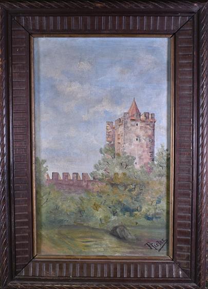 P. Fister - Středověký hrad