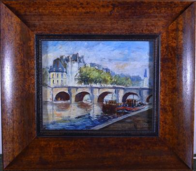 E. Obrecht - Z Paříže