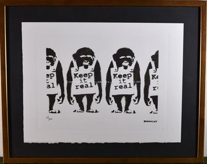 Banksy - Monkeys