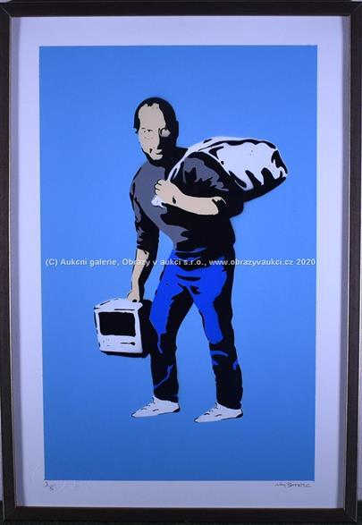 Banksy - Son of a migrant