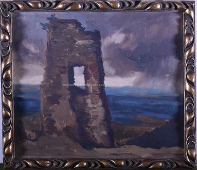 Karel Jan Sigmund - Pevnost na pobřeží před bouří