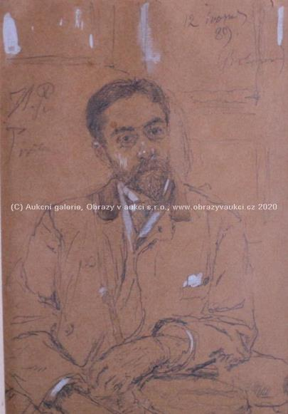 Maxmilián Pirner - Autoportrét