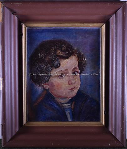 Hladík - Dětský portrét