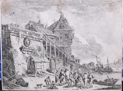 Nicolas Bonnart, Franz Edmund Weirotter - Soubor 3 grafických listů