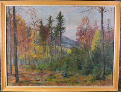 Pavel Bačovský - Podzimní les