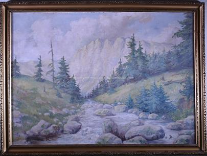 A. Procházka - Horská řeka