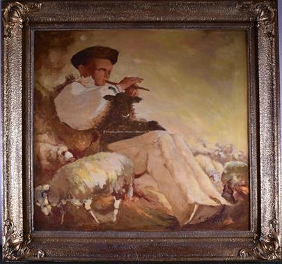 Jan Hála - Pastierik (Píšťalkár)