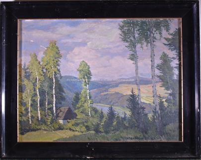 Otakar Hůrka - Krajina nad Sázavou