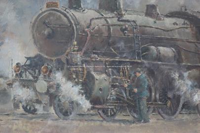 Horský - Lokomotiva