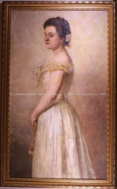 Barsy Adolf - Dívka v bílých šatech
