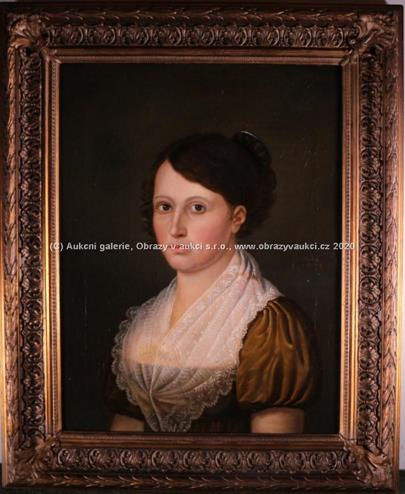 Johann Christoph Heckel - Portrét dívky