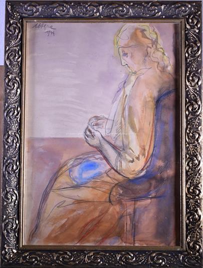 Václav Hejna - Žena v křesle