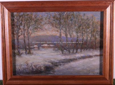 Josef Holub - Zimní krajina