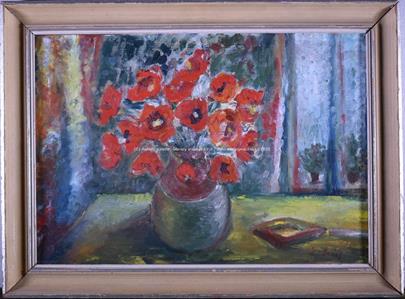 Vincenc Beneš - Váza s vlčími máky