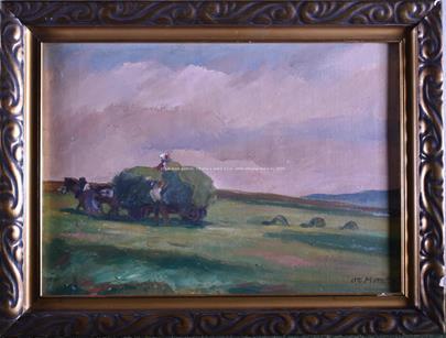 Otto Matoušek - Práce na poli