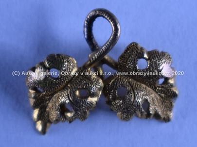 .. - Závěs, zlato 585/1000, hrubá hmotnost 0,30 g