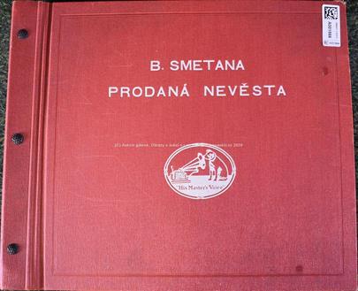 Bedřich Smetana - Soubor 15 gramofonových desek - Prodaná nevěsta