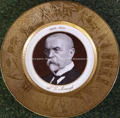 Ant. Roscher - Talíř - T. G. Masaryk
