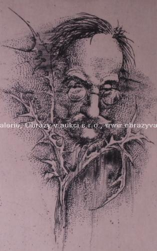 Oldřich Kulhánek - Muž s brýlemi
