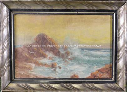 Emanuel Hosperger - Vlnobití na moři