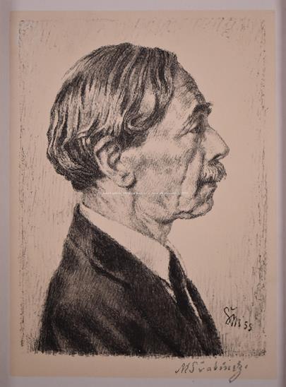 Max Švabinský - Paul Valéry