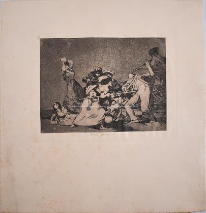 Francisco de Goya - Y son fieras