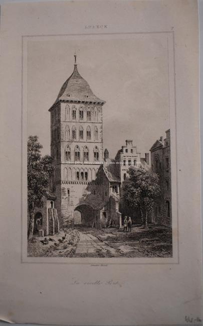 kolem roku 1850 - Soubor 10 ocelorytin - Německo
